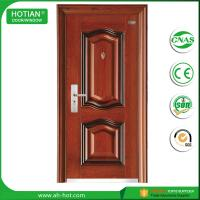 Cheap 2016 New Models Steel Security Door Main Entrance Door Popular for Apartment, Hotel, House Main Gate for sale