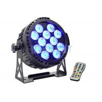 Buy cheap Waterproof Battery Powered LED Par 12x15w For Church High Efficiency from wholesalers