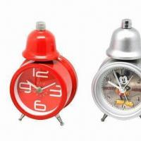 Cheap Alarm Clock with Twin Bell Design, Suitable for Promotions for sale