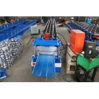 China 20 Stations Standing Seam Metal Roof Machine 610mm Width  0.5-0.8MM Thickness on sale