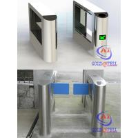 Electronic mechanism swing barrier gate turnstile with esd