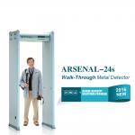 Cheap Indoor access control Walk Through metal detector door Body Scaner for sale
