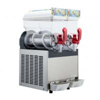 Cheap 300W 15L×2 Ice Slush Machine With Double Tank For Making Beverage , 110V - 115V for sale