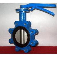 Cheap Ductile Iron Centerline Butterfly Valves Lug Style Pneumatic Operated ANSI 150 for sale