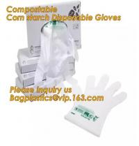 Cheap Corn starch PLA Biodegradable Compostable PBAT packaging products, EN13432,Food Grade Custom Design non sterile pe plast for sale