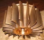 Cheap Copper Casting Pump Impeller for sale
