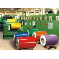 Quality Alloy Color Coated Coil / Painted Aluminium Coil 350 - 550 Mpa Tensile Strength wholesale