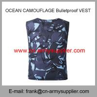 Cheap Wholesale Cheap China Aramid Ud PE Ocean Camouflage Bulletproof Vest for sale
