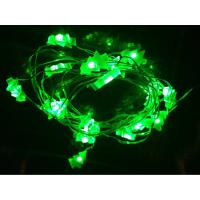 Led string christmas light new year holiday clear wire of orange3509