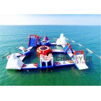 Giant Floating Inflatable Aqua Park 0.9mm PVC Tarpaulin Inflatable Water Games