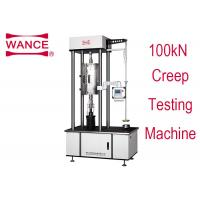 Buy cheap 100KN Creep Tensile Testing Machine With Touch Screen Operation Lever Type from wholesalers