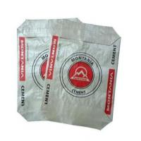 Cheap Polypropylene Woven Cement Valve Bags Dust resistant Multi Color Printed for sale