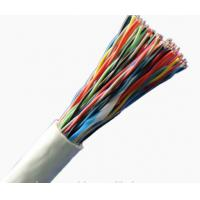 China Indoor Unshielded Copper Wire , Cat3 150 Pair Telephone Cable 24AWG Bare Copper on sale
