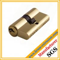 Chinese manufacturer OEM service copper alloy brass lock cylinder extrusion profiles