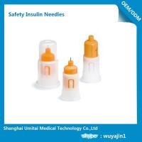 China Customized Insulin Pen Safety Needles , Safety Pen Needles For Lantus Solostar Pen on sale