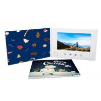 Cheap Custom LCD Marriage Invitation Card , Digital Video Player Brochure 800*480 Pixel for sale