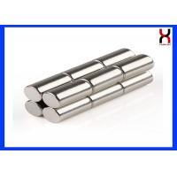 Cheap Neodymium Permanent Diametric Cylinder Shaped Magnet For Motor / Electronic for sale
