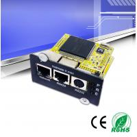 Cheap SNMP Ups Network Management Card , SNMP Card For Ups Built - In WEB Server wholesale