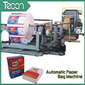 Cheap 50KG Kraft Sack Making Machine , Paper Bag Production Line For Cement Bag wholesale