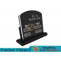 Cheap Blackjack Casino Table Games LED Electronic Bet Limit Sign With Customized Style for sale