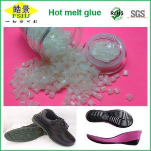 Cheap High Adhesive Strength Hot Melt Pellets , High Temperature Shoe Sole Glue wholesale