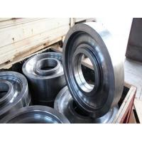 Buy cheap High quality forged crane wheels/Die Forging Alloy Wheel/Heavy machine moving from wholesalers
