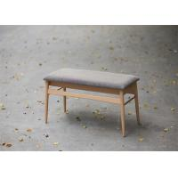 Cheap Indoor Long Oak Beech Solid Wood Bench Simple Style Strong Structure Customized for sale