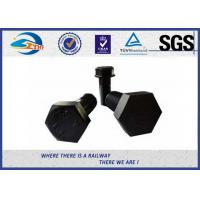Cheap SGS BV Railway Fastener Hex Head Anchor Bolt HDG Custom Diameter 18mm And 22mm for sale