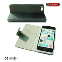 Cheap Stand Flip Leather Cell Phone Cases And Covers Classical Etched For Iphone 4s for sale