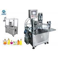 Cheap High Performance Nail Polish Making Machine 2.5kw Power With Servo Capper for sale