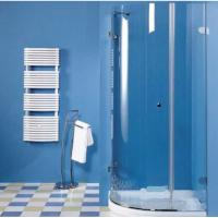 Cheap Curved Tempered Safety Glass 6mm 8mm as Shower Enclosure , toughened safety glass wholesale