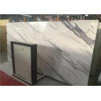 China Artificial Marble Engineered Stone Vanity Tops Anti - Scratch White With Veins Color on sale
