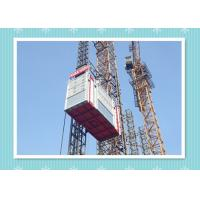 Cheap Safety Platform Construction Hoist Elevator , SC270GZ Building Elevator for sale