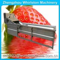 Cheap apple washing machine/garlic cleaning machine/fruit and vegetable cleaning machine water jet loom for sale