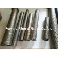 Cheap Punching Automotive Perforated Exhaust Tubing , Water Treatment Perforated Filter Tube wholesale