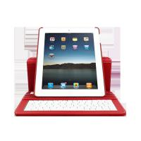 Cheap Wired ABS Ipad 2 bluetooth Keyboard Case with Multi viewing angels (screen can rotate) for sale