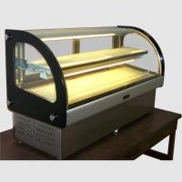 Cheap 5MM glass refrigerated  display showcase for sale