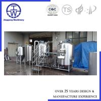 Cheap Customized Industrial Beer Brewing Equipment , 500 L Craft Beer System for sale