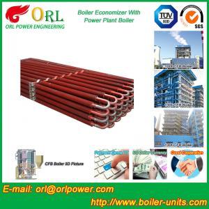 Cheap Power Plant CFB Boiler Economizer Silver Boiler Spare Part For Petroleum Industry wholesale