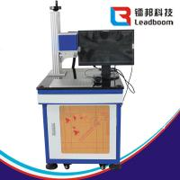 Cheap Laser Glass Engraving Machine , Laser Metal Engraving Machine For  Food Packaging for sale