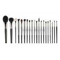 Cheap Natural Hair Beauty Professional Brush Set 100% Cruelty Free With Wood Handle for sale
