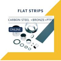 Cheap Carbon Steel + Bronze + PTFE + Strips Composite Bearings Cylindrical Bushings DIN 1494 for sale