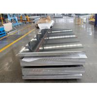 China 5052 H34 Aluminum Alloy Sheet , 1 Inch Thick Aluminum Plate SGS Cetificated on sale