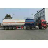 Cheap 42 Ton Liquid Chemical Tank Trailer For Concentrated Sulfuric Acid for sale
