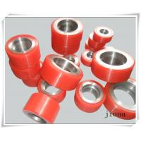 Cheap Customized PU Coating Polyurethane Rollers Abrasion Resistant for sale