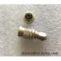 Buy cheap 6 Pin Hirose medical female connector Male to Right Angle DC Jack cable assembly from wholesalers