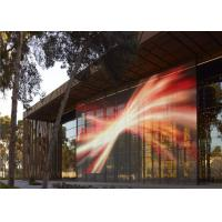 Cheap P10 LED Curtain Display RGB Full Color High Brightness 5500 nit For Outdoor for sale
