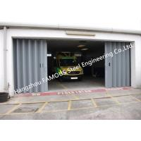 Cheap External Folding Panel Doors Horizontally Folding Garage Doors With Custom Opennings for sale