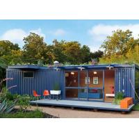 China Single  Story  Storage Ready Made Shipping Container Homes  To Live In  Foldable on sale