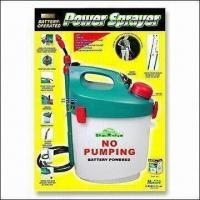 Cheap Battery-powered Garden Sprayer with Shoulder Strap and Extendable Wand for sale